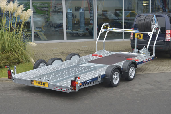 Southern Trailers - Brian James CarGo Flatbed Trailer.