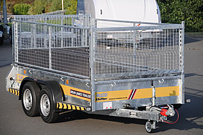 Southern Trailers -  Goods Trailer with cage.