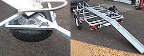 Southern Trailers - Motorbike trailer, photo selection